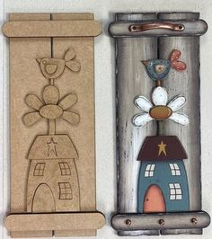 Wooden Picture, Country Paintings, Wooden Crafts, Decoupage, Painted Rocks, Hanger, Projects To Try, Scrapbook, Templates