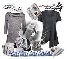 """""""Sammydress"""" by merryyyyy-132 ❤ liked on Polyvore featuring 7 For All Mankind, outfit, clothes, sammydress and fashionme"""
