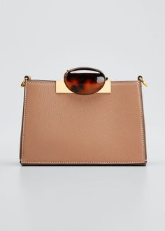 MARNI GALET LEATHER CROSSBODY BAG. #marni #bags #shoulder bags #leather #crossbody