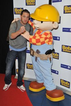 mime boxing with bob - yeah, this happened...in real life ;) <3 you tom!!