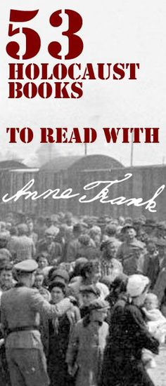 53 Holocaust Books for students to read as companion books during your study of The Diary of Anne Frank. Fiction and Non-fiction options. Open up your students worlds with these great reading choices!