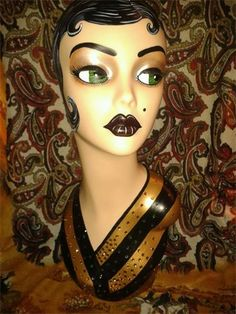art deco hollywood mannequin by evie sweetie
