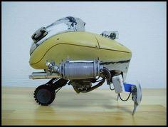 ジャンクプラント » 自走式無人機操縦ポッド