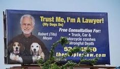 Everyone has seen a billboard for a lawyer at some point when driving down the highway or across town. Check out these really hilarious lawyer billboards t. Funny Ads, Funny Signs, Funny Texts, Hilarious, Funny Humor, Jokes Quotes, Funny Quotes, Funny Billboards, Lawyer Humor