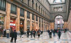 A antiga Galeria Umberto I