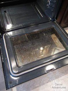 Clean an Oven Door