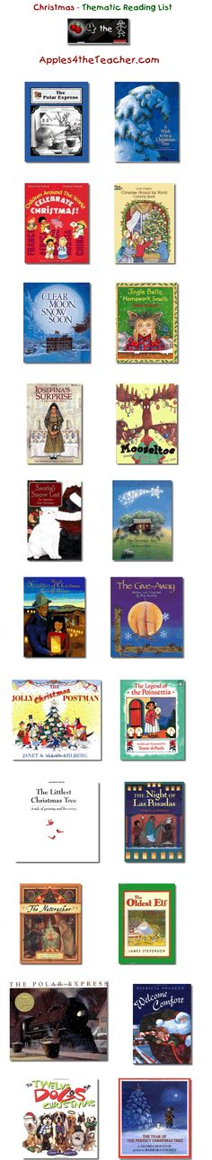 68 best mouse books images on pinterest baby books children suggested thematic reading list for christmas christmas books for kids spiritdancerdesigns Images
