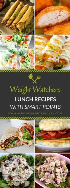 Weight Watcher Lunch Recipes With Smart Points