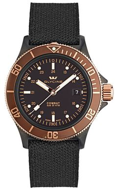 Glycine Watch Combat SUB Golden Eye #bezel-bidirectional #bracelet-strap-leather #brand-glycine #case-depth-10-6mm #case-material-black-pvd #case-width-42mm #date-yes #delivery-timescale-call-us #dial-colour-black #gender-mens #movement-automatic #official-stockist-for-glycine-watches #packaging-glycine-watch-packaging #subcat-combat #supplier-model-no-3863-399-c6-tba9 #warranty-glycine-official-2-year-guarantee #water-resistant-200m