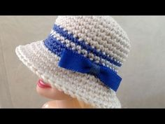 How to Crochet a Doll-Sized Top Hat - YouTube