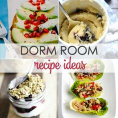 15 Easy Dorm Room Recipes