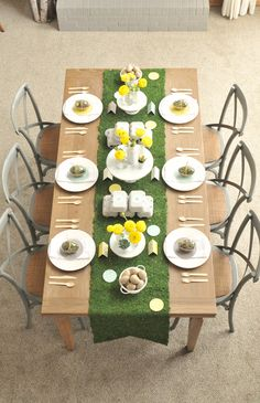 Easter table.