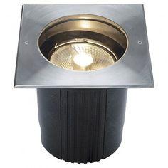 DASAR 215, ES111 Bodeneinbauleuchte, eckig / LED24-LED Shop