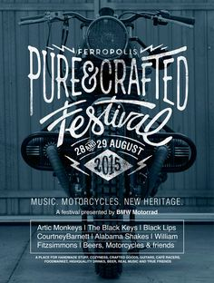 PURE-&-CRAFTED-FEST-PROP-poster by Alex Ramon Mas Design