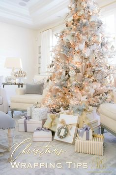5 Christmas Gift Wrapping Tips you Will Love - Randi Garrett Design 25 Pretty Christmas Makeup Ideas.
