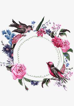 Framed Wallpaper, Flower Background Wallpaper, Flower Backgrounds, Wallpaper Backgrounds, Iphone Wallpaper, Flower Frame, Flower Art, Molduras Vintage, Pinturas Disney
