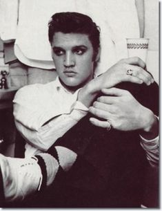 Elvis Presley early shot at Olympia Theatre, Miami, Florida in 1956