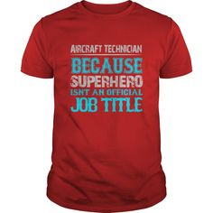 Aircraft Technician T-Shirts, Hoodies. VIEW DETAIL ==► https://www.sunfrog.com/Jobs/Aircraft-Technician-Shirt-Red-Guys.html?id=41382