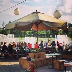 De 15 leukste terrasjes en hangouts in Vlaanderen - Cargo Zomerbar Antwerpen