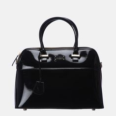 This all-black patent Maisy is a bestseller. It's iconic an iconic shape under the Paul's Boutique brand – a must have to add to your handbag collection. Paul's Boutique, Travel Bags, Best Sellers, All Black, Handbags, Collection, Women, Fashion, Travel Handbags