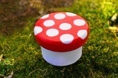 Mushroom Faerie Altar Box