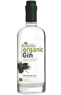 Biostilla Organic Gin from Sud Tirolo, Italy