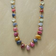 Sapphire Fantasy Necklace from Sundance on shop.CatalogSpree.com, your personal digital mall.