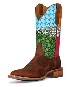 Cinch Edge Festival Cowgirl Boots - Square Toe