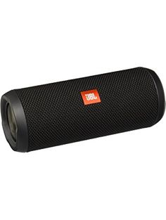 JBL Flip 3 Splashproof Portable Bluetooth Speaker, Black ❤ JBL