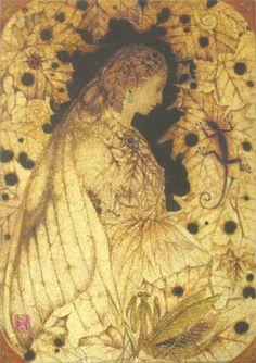 秋の譜 (Autumn's music), by Masaaki Sasamoto (Japanese, born in 1966), 2011