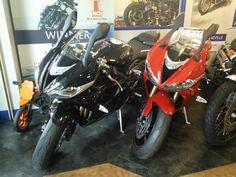 Daytona675, red and black.