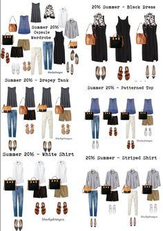 Minimalist Capsule Wardrobe for Spring Capsule Wardrobe, Capsule Outfits, Fashion Capsule, Summer Wardrobe, Travel Wardrobe, Look Fashion, Fashion Outfits, Womens Fashion, Classy Fashion