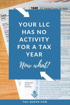 Sometimes a limited liability company or LLC has a year with no business income or activity. Whatever the reason for no activity, does the LLC need to file a tax return? Understand the requirements. Llc Business, Small Business Tax, Craft Business, Starting A Business, Business Planning, Business Tips, Online Business, Business Quotes, Small Business Organization