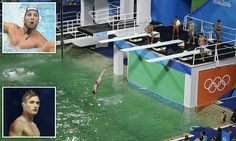 Water polo players say Rio 'green pool' has TOO MUCH chlorine #Daily Mail