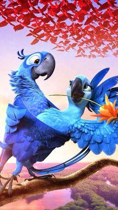 Rio Film, Rio Movie, Movie Wallpapers, Cute Cartoon Wallpapers, Hd Desktop, Disney Phone Wallpaper, Iphone Wallpaper, Disney Art, Disney Movies