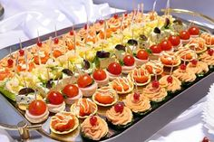 Post is for wedding reception but great ideas for mini-food appetizers for any occasion! Description from pinterest.com. I searched for this on bing.com/images