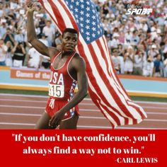 """Frederick Carlton """"Carl"""" Lewis (born July 1, 1961) is an American former track and field athlete, who won 10 Olympic medals, including nine gold, and 10 World Championships medals, including eight gold. His career spanned from 1979 to 1996 when he last won an Olympic title and subsequently retired. #Confident #Legend #Olympics ##Sprint #Fit #Fitness #Motivation #Inspire #USA #Champion Carl Lewis, Olympic Medals, Just A Game, Latest Sports News, July 1, Track And Field, World Championship, Cross Country, Confident"""