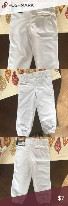 Boys youth baseball pants NWT Brand new never worn boys youth baseball pants. White. Champro Sports Bottoms Sweatpants & Joggers