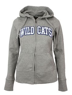 Cheer on your Wildcats with this adorable Kentucky Wildcats hooded full-zip jacket! The beautifully embroidered Wildcats logo makes a bold and fun statement of your Kentucky allegiance, while the supe