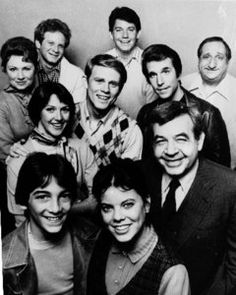 Happy Days. Was really great in the beginning about a 50s family and teens going to Arnolds and freaking out at Cool Fonzie and his women. It carried on for years and maybe too long after Richie left the show. But...However, We had Joanie and Chachie.