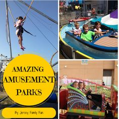Jersey Family Fun shares amazing amusement parks in New Jersey, New York, and Pennsylvania great options for family fun in New Jersey and the tristate area.