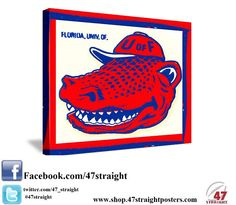Available soon. Florida Gators Canvas Art. Great Father's Day Gift for Florida Gators fans. #47straight #florida http://47straight.lockerdome.com/ Best Father's Day Gifts for sports fans. 47 STRAIGHT.™ Come join our Lockerdome Network.