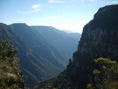 Cânion da Fortaleza, no Parque Nacional da Serra Geral