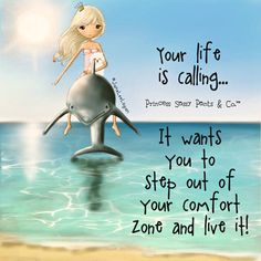 Step out of your comfort zone... ~ Princess Sassy Pants & Co