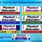 """7 Products in one bundled package!- 4 colors per Banner!!  This """"bundled package""""  includes the following PE upper grade level intended banners (4t..."""