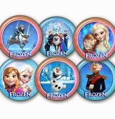 Disney's Frozen digital Collage Sheet 24 by elenis4youbanners, €1.44