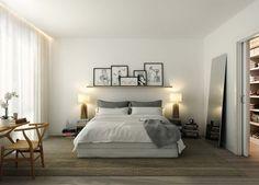 Chambre / bedroom. Shelf / étagère
