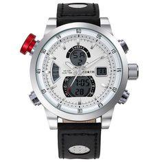 Only US$15.99 , shop NORTH 6024 Fashion Men Digital Watch Luxury Muti-function Sports Watch at Banggood.com. Buy fashion Dual Display Watches online.
