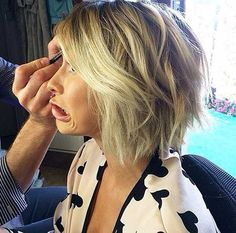 Wavy Bob with Choppy Cut