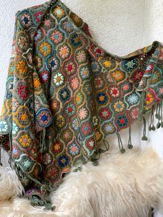 Knit Or Crochet, Crochet Shawl, Wool Yarn, Blanket, Knitting, Pattern, Handmade, Color, Hand Made